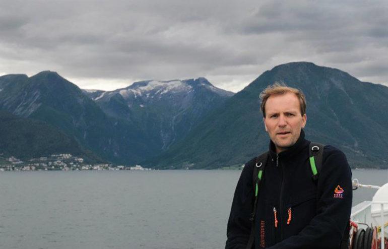 Фото Сергія Криниці у Норвегії