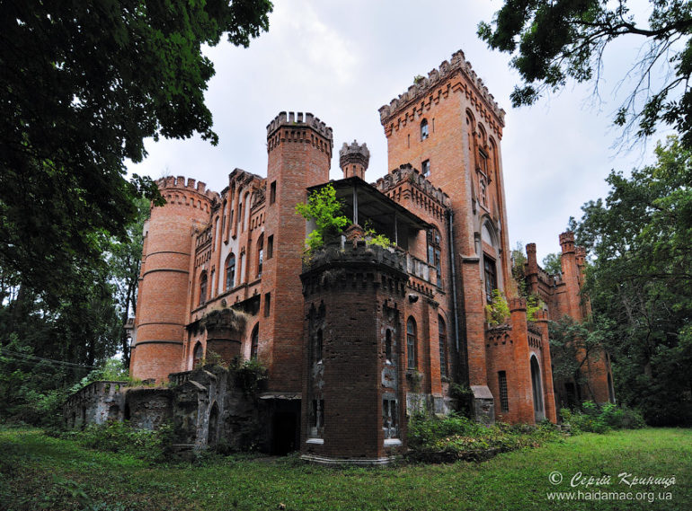 Фото палацу у Леськах Сергія Криниці