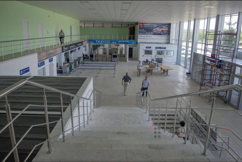 Фото полтавського аеровокзалу