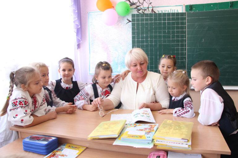 Фото класу у звичайні школі