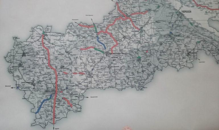 Фото карти доріг Чекащини ремонт