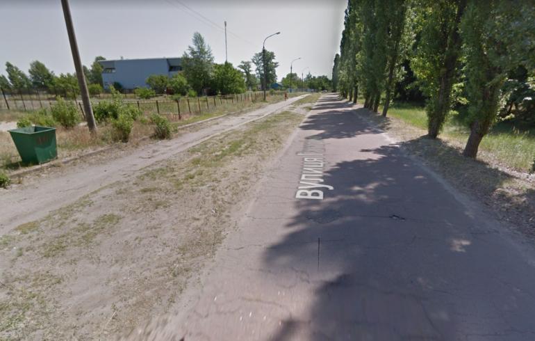 вулиця Гагаріна в Черкасах до ремонту