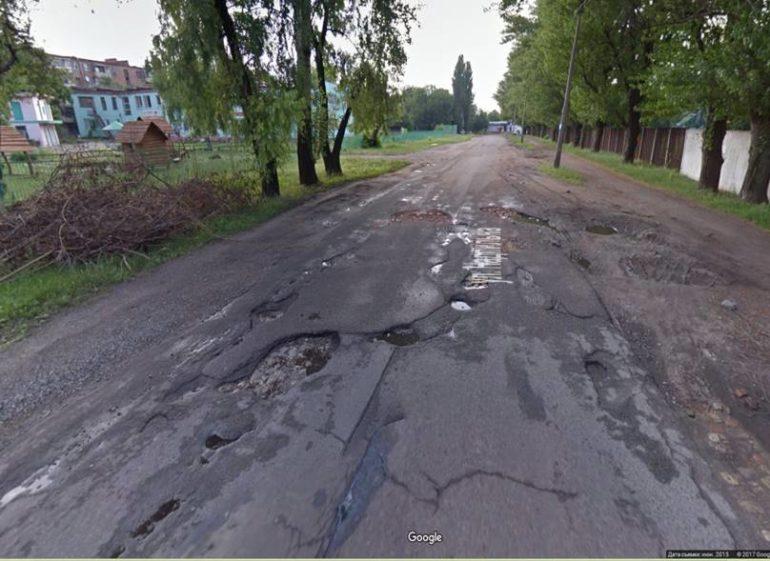 вулиця Надпільна Черкаси