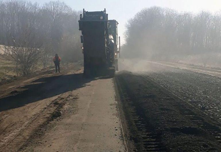 фото ремонту доріг Шпола