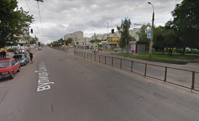 Фото дороги на Сумгаїтській Черкаси