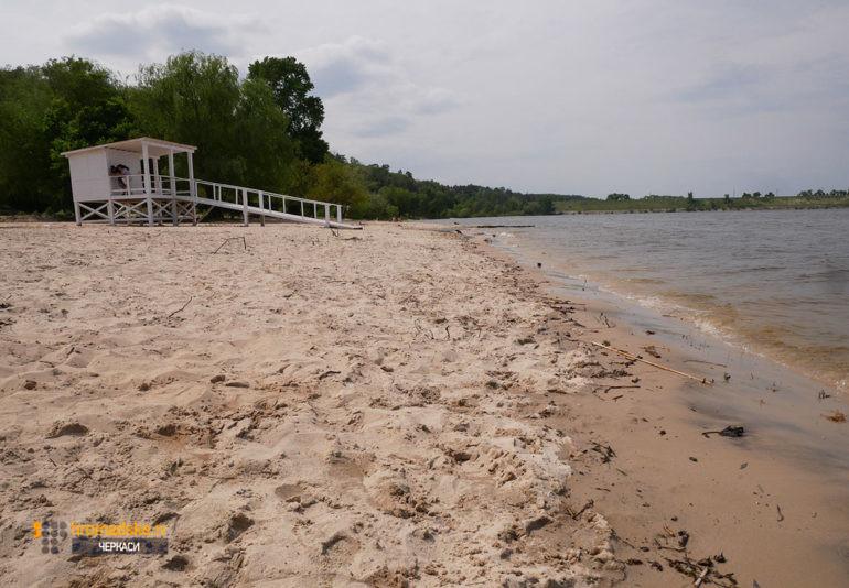 Фото пляжу Соснівський