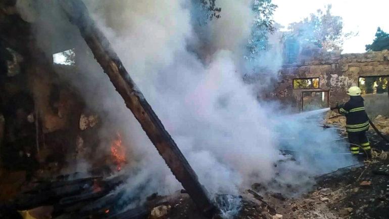 Перша пожежниця в Україні