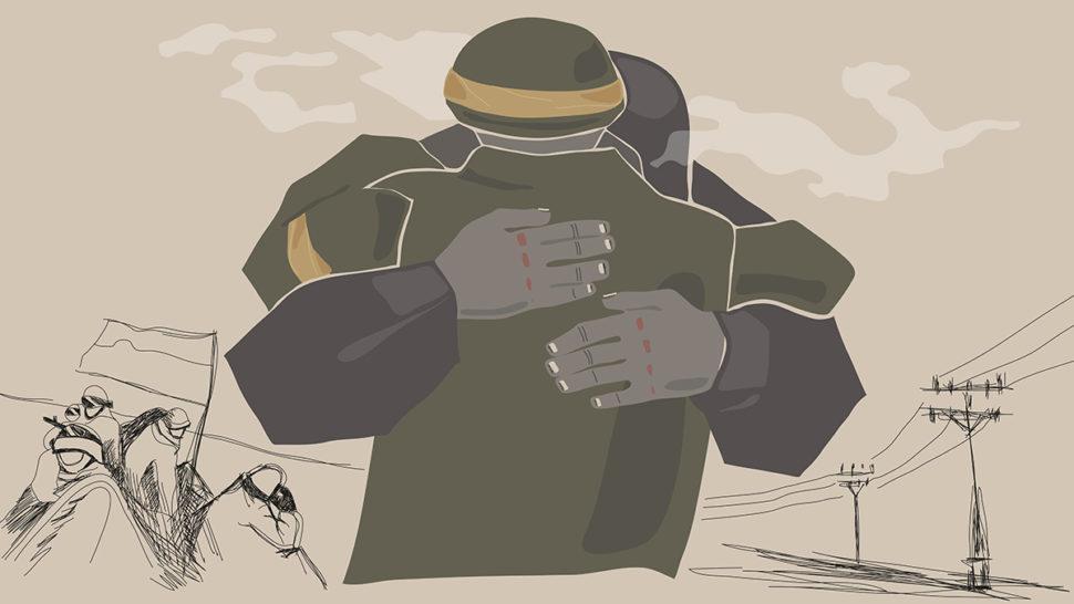 Дебальцево. Черкаські воїни ілюстрації Юлій Гайдай