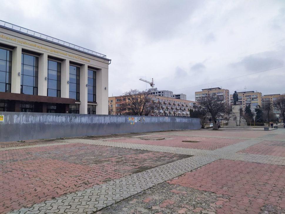 Театральна площа у Черкасах