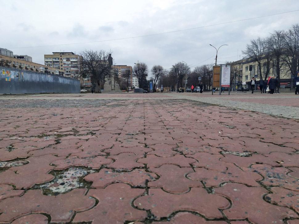 Площа Тараса Шевченка у Черкасах