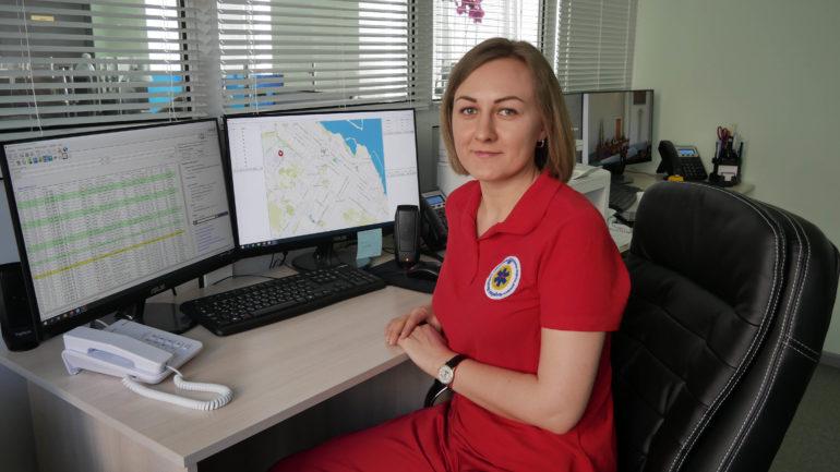 Диспетчерська швидкої допомоги на Черкащині