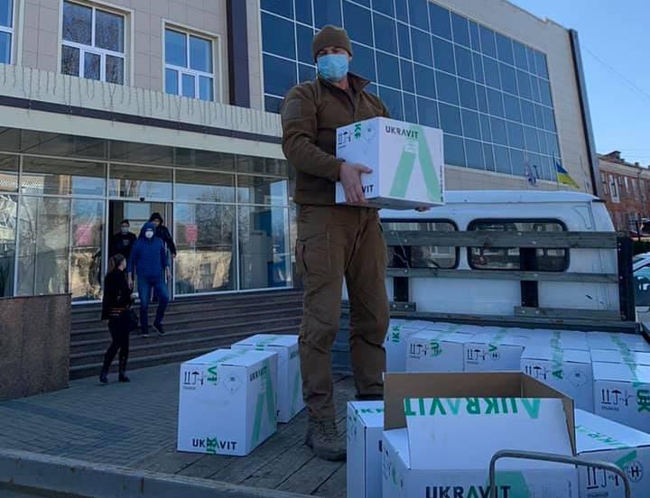 Як бізнес допомагає боротися з епідемією на Черкащині