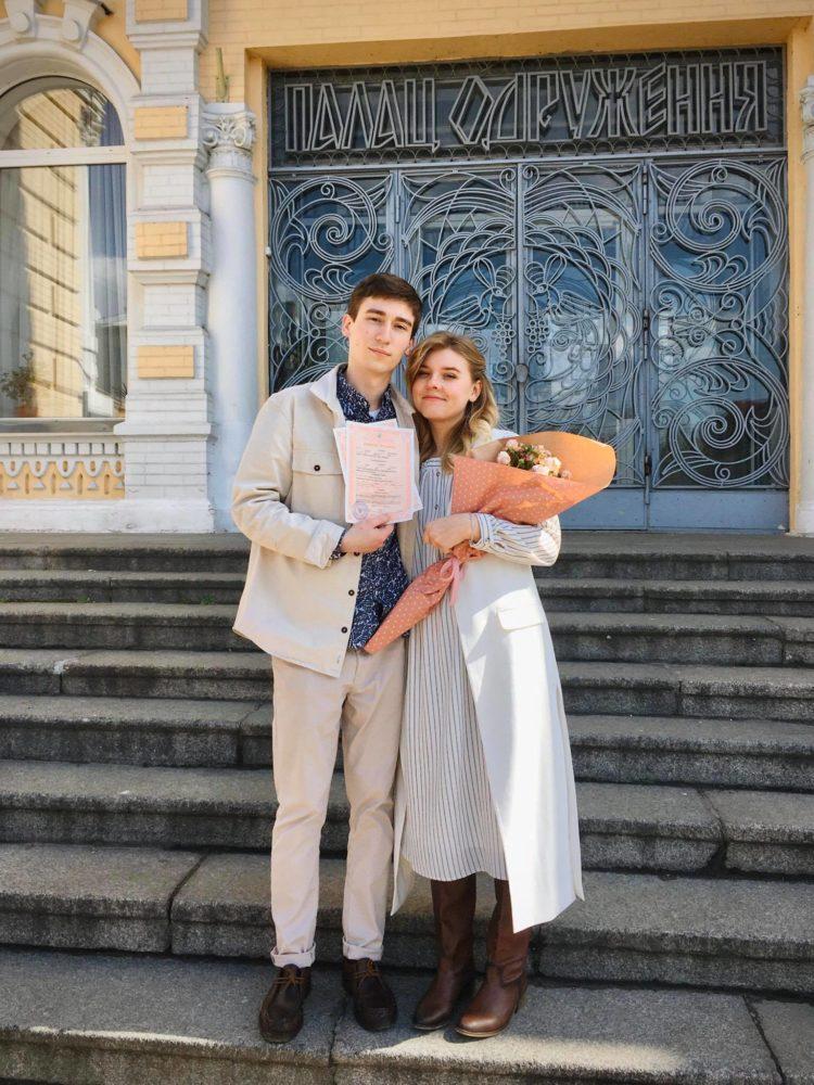 Черкащани одружилися на карнтині